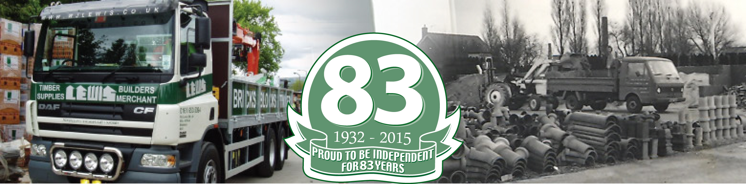 Proud to be independent for 75 Years